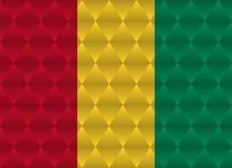 guinea low poly flag