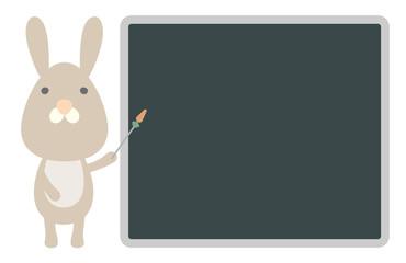 Rabbit Blackboard