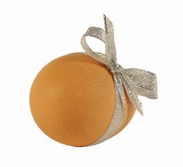 Куриное яйцо с бантиком