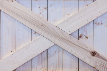 Wooden box panel
