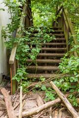 Marode Treppe