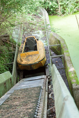 Verlassener Wasserwagen