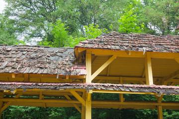 Verfallenes Dach