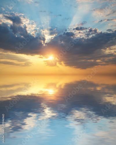 Zdjęcia na płótnie, fototapety na wymiar, obrazy na ścianę : Sky background