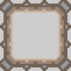 pattern pixel art frame gray