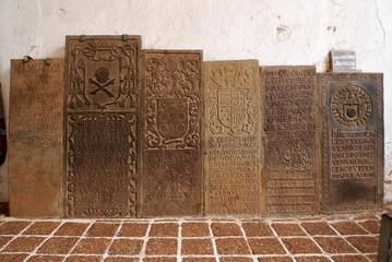 マラッカ セントポール教会の墓石
