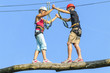 Vertrauen bei der Partnerübung