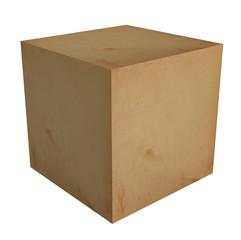 3D Cardboard box
