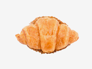 croissant bread isolated