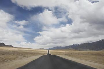 Road landscape in Ladakh, India.