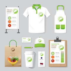 Vector health, beauty shop set flyer, menu, package, t-shirt, ca