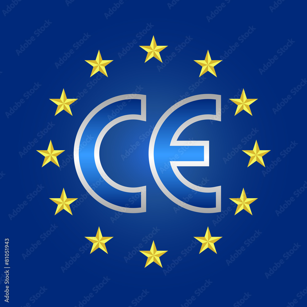 europejskiej zgodność oznakowanie - powiększenie
