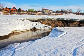 Река Обь.Сибирь
