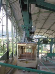 Historische Bergbahngondel
