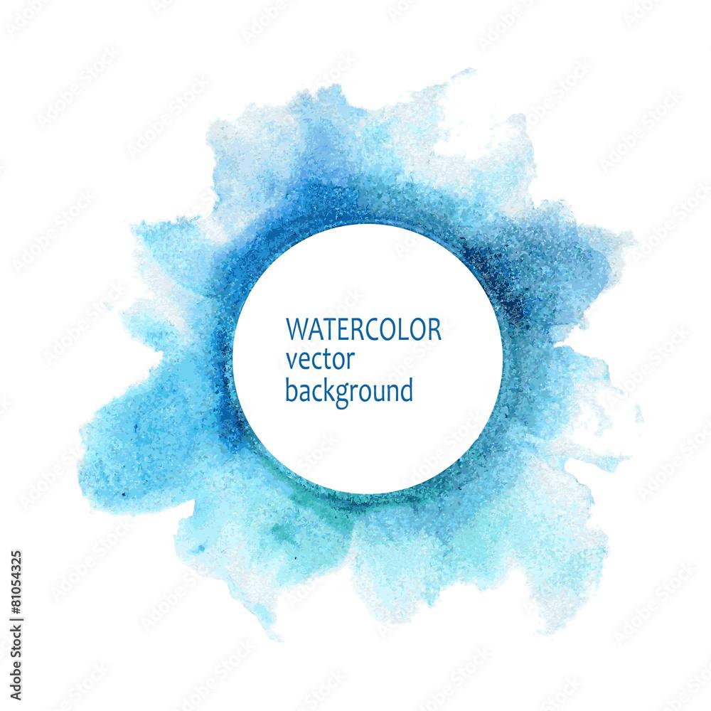 rozchlapać farba niebieski - powiększenie