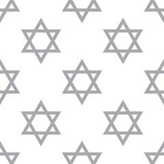 New Judaism seamless pattern