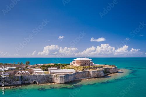 Fotobehang Vestingwerk King's Wharf, Bermuda
