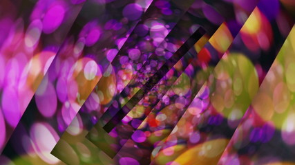 Abstract Spheres Tunnel Background