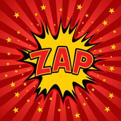zap label background