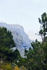 landscape on the mountain Ai-Petri in Crimea