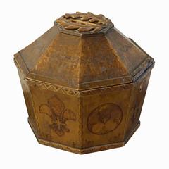 Alms box.