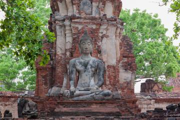 buddha statue at Wat Mahathat, Thailand