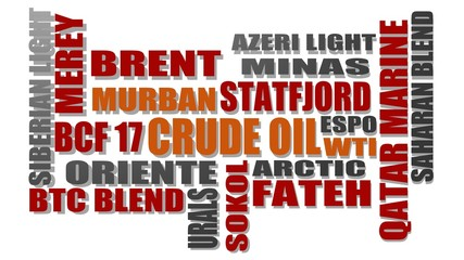 crude oil benchmarks