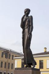 Памятник Анне Ахматовой в Санкт-Петербурге