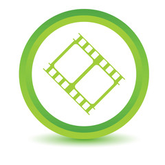 Green movie icon