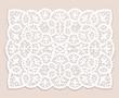 Lace doily - 81063168