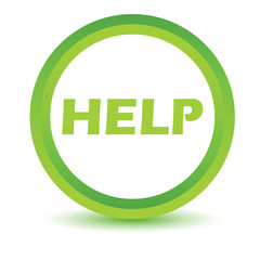 Green help icon