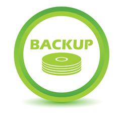 Green backup icon