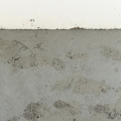 wet cement texture in building construction site for background