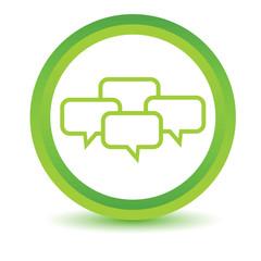 Green Dialog icon