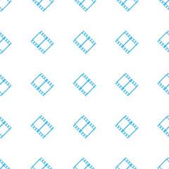 Unique Film seamless pattern
