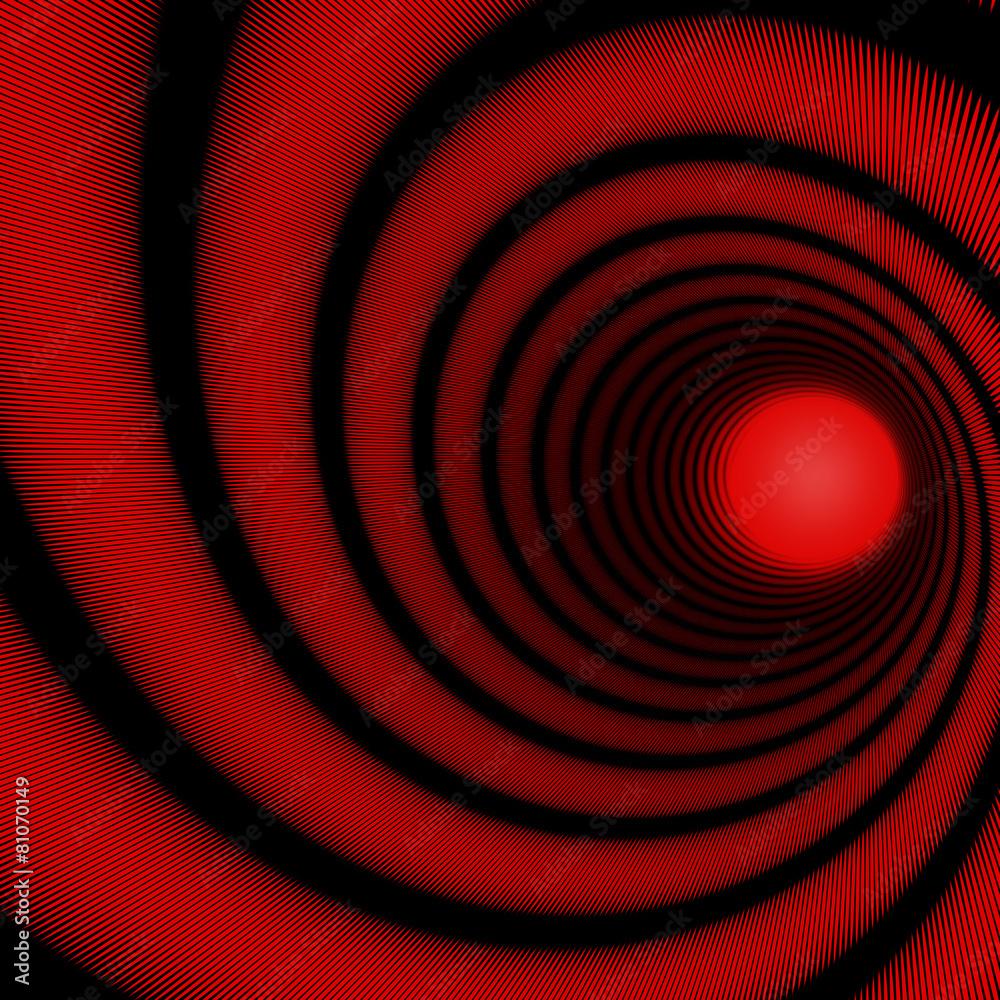 magnetyzer hipnotyzować czerwony - powiększenie