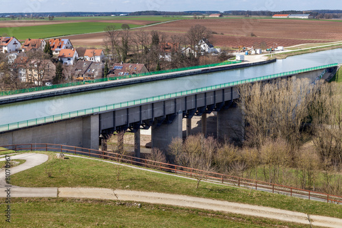 Foto op Canvas Kanaal Trogbrücke Main-Donau-Kanal