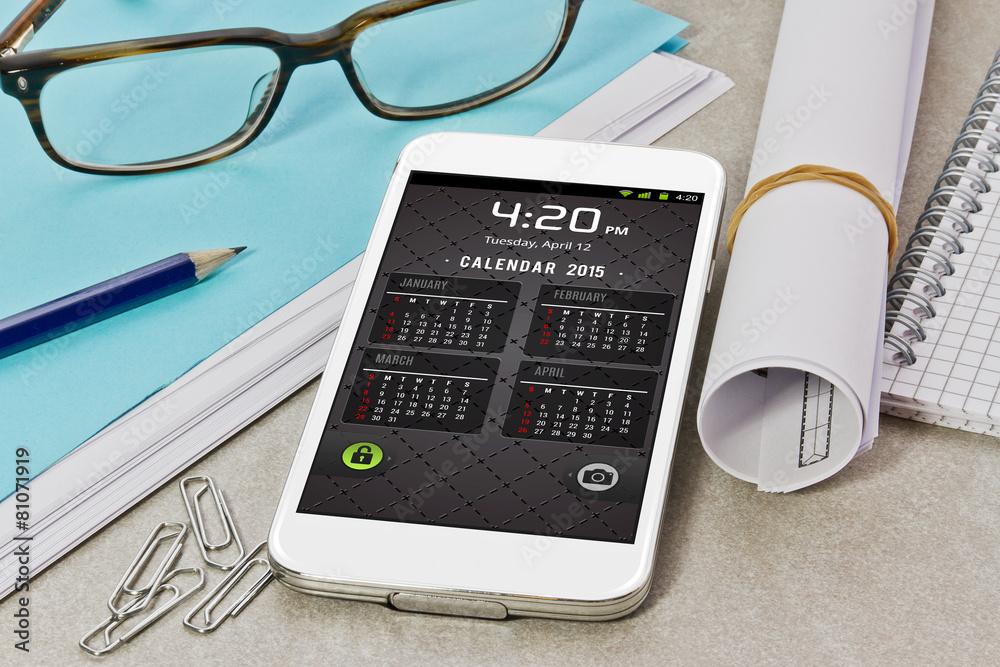 telefony sprytny mobilny - powiększenie