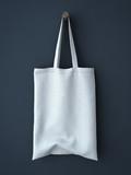 White cotton bag
