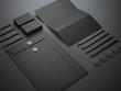 Black branding mockup - 81073109