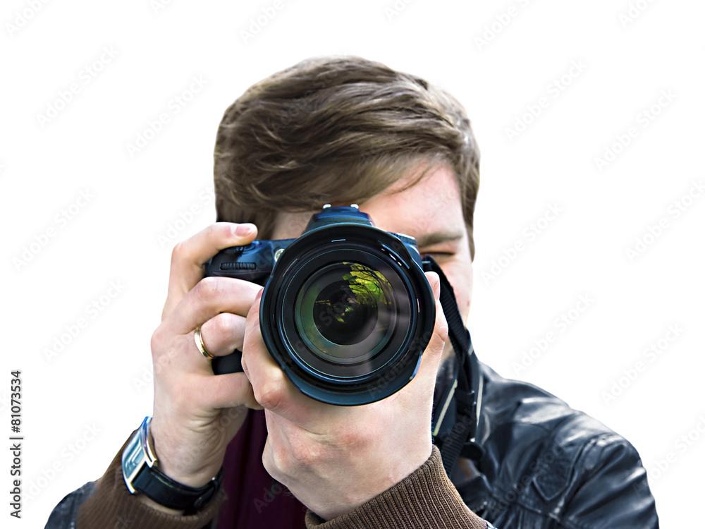 soczewka fotograf wideo - powiększenie