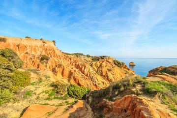 A view of a Parque Natural da Ria Formosa, Portugal