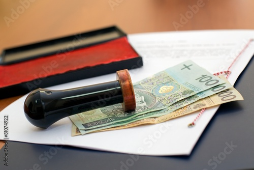 The cost of notary services - 81074922