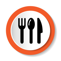 Fork, Knife And Spoon Vector Icon