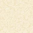 Floral vintage seamless beige pattern. Vector illustration.