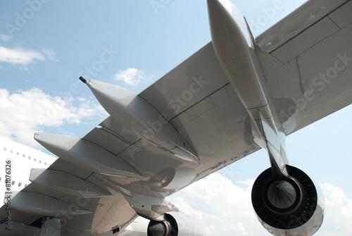 Photo sur Plexiglas Avion à Moteur Flugzeugflügel