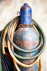welding gas container