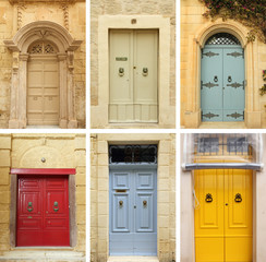 elegant old doors collection