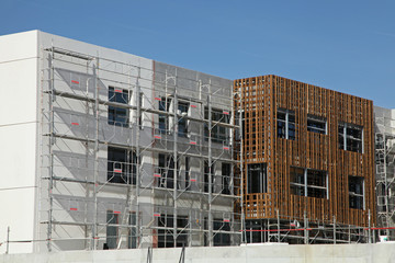 Chantier de construction de logements