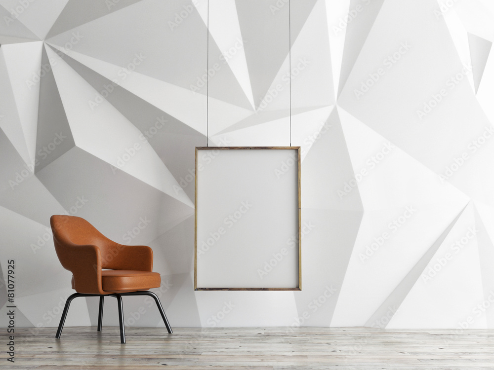 w górę krzesło ściana - powiększenie
